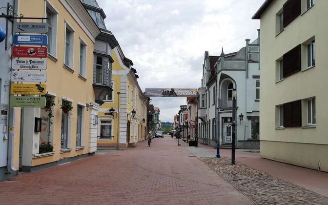 Pärnu Rüütli tänav