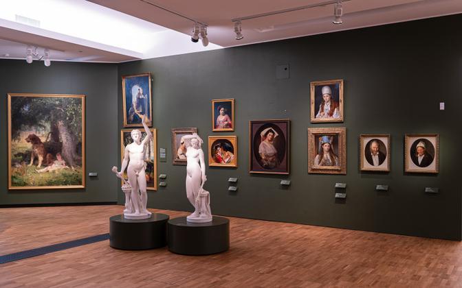 Oskar Hoffmanni teoseid on eksponeeritud ka Kumus hiljuti uuendatud püsinäitusel