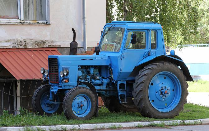 MTZ has been cranking out the MTZ-80 model tractor for nearly half a century. The model is still produced in Minsk.
