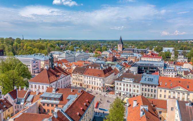 The city of Tartu.