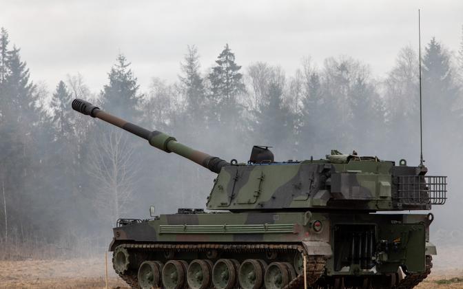 K9 Thunder mobile artillery.