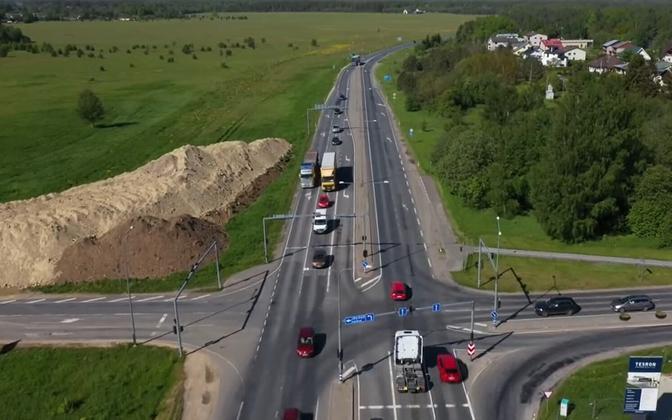 The Kanama-Valingu stretch of Tallinn ring road.