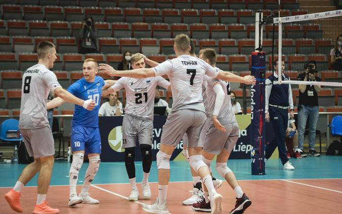 Estonian men's national volleyball team.
