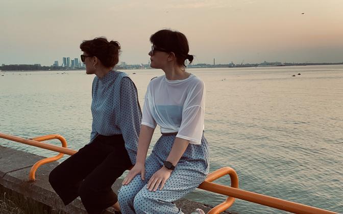 Hannaliisa Uusma (paremal) ja Brigitta Davidjantsi duo Hunt.