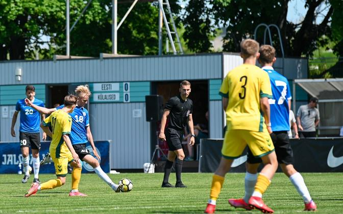 Eesti - Leedu U-19 jalgpalli maavõistlus