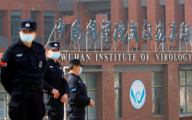Wuhani viroloogiainstituudi sissepääs.