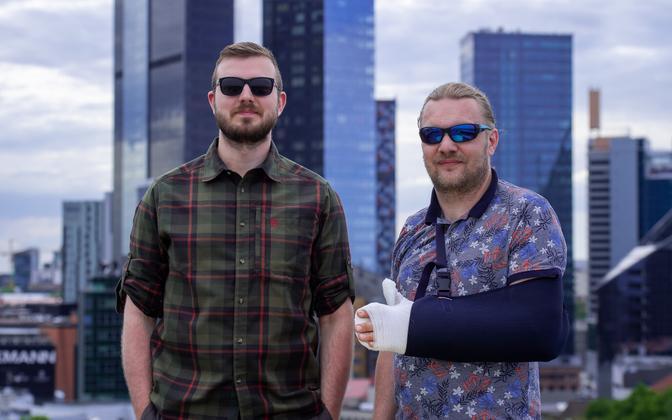 'Olukorrast riigis' hosts Indrek Lepik and Hindrek Riikoja.