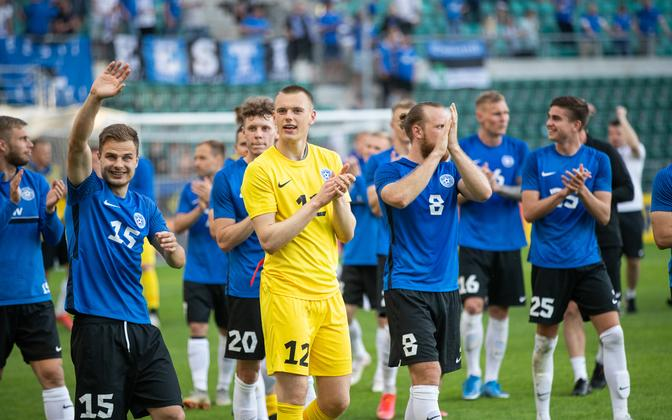 Estonian national football team.