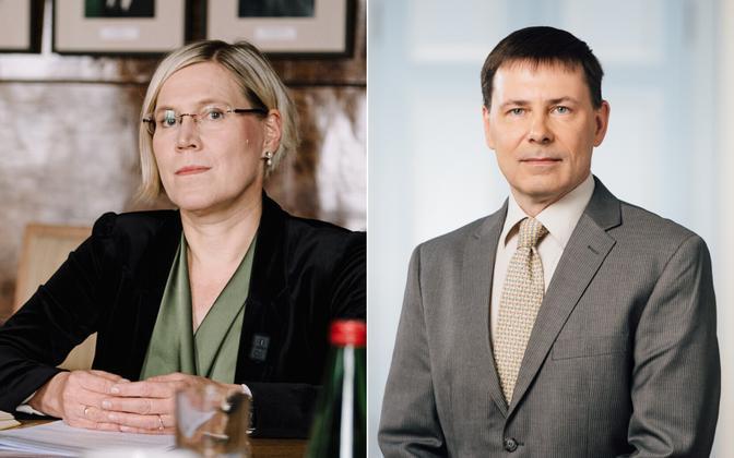 Ülle Madise ja Olari Koppel