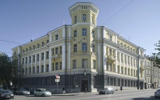 Tallinn Circuit Court building on Pärnu mnt.
