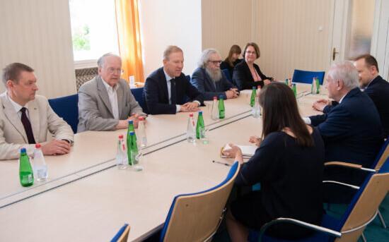 Встреча парламентариев Эстонии и Франции.