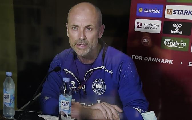 Taani jalgpallikoondise arst Morten Boesen