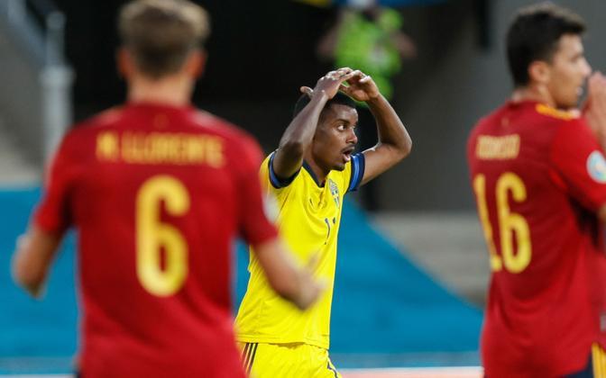 Jalgpalli EM: Hispaania - Rootsi