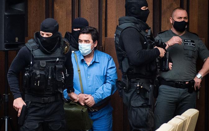 Multimiljonär Marian Kocner kohtus
