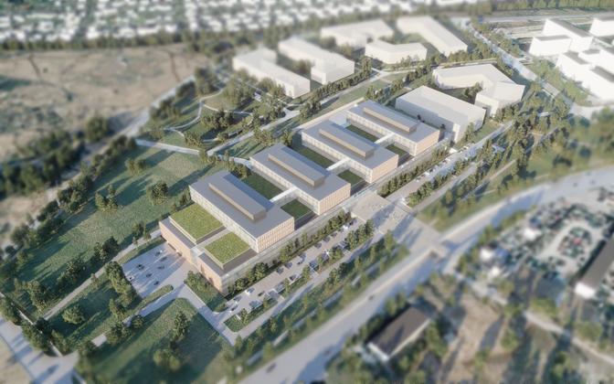 Проект Таллиннской больницы.