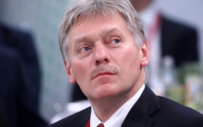 Kremili pressiesindaja Dmitri Peskov.