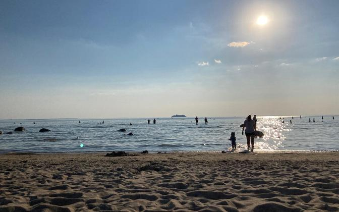 Haabneeme rand kuumalaine ajal