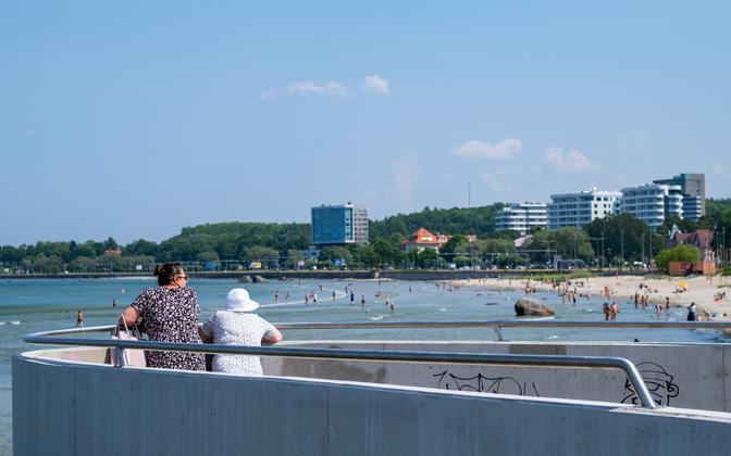 Tallinn in summer.