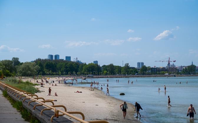 Tallinn's Inglirand beach.