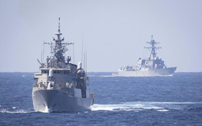 USA mereväe laevad