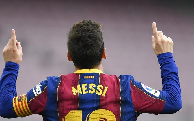 Lionel Messi on Barcelonas mänginud juba 21 aastat