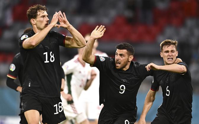 Jalgpalli EM: Saksamaa - Ungari