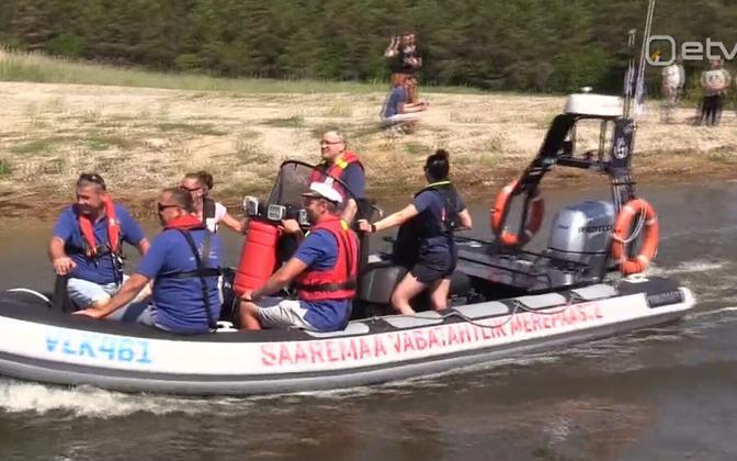 Добровольные спасатели Сааремаа.