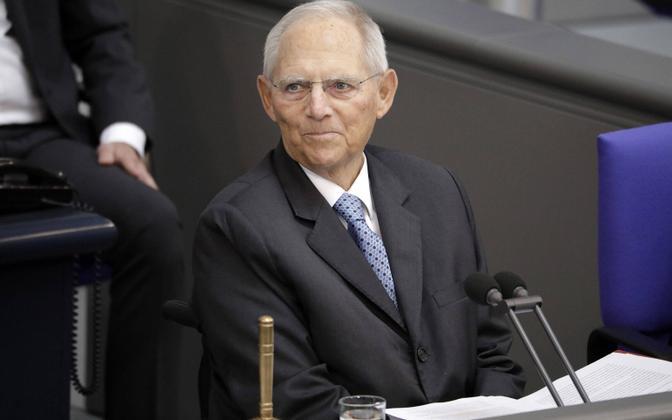 Saksamaa endine rahandusminister Wolfgang Schäuble