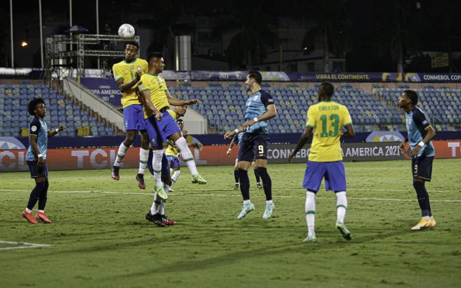 Copa America: Brasiilia - Ecuador