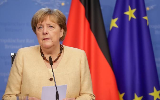 Saksamaa kantsler Angela Merkel