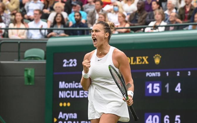 Arina Sabalenka Wimbledonis