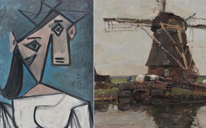 Politsei leidis Ateenas üheksa aastat tagasi varastatud maalid