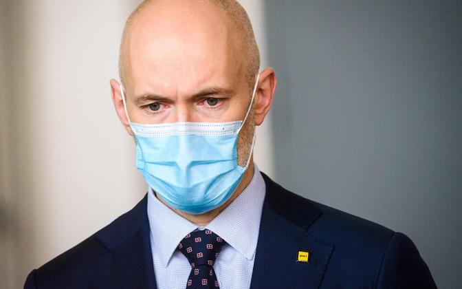 Läti tervishoiuminister Daniels Pavluts