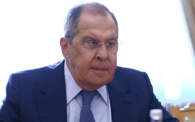 Venemaa välisminister Sergei Lavrov