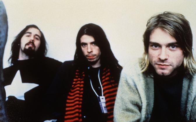 Krist Novoselic, Dave Grohl ja Kurt Cobain.
