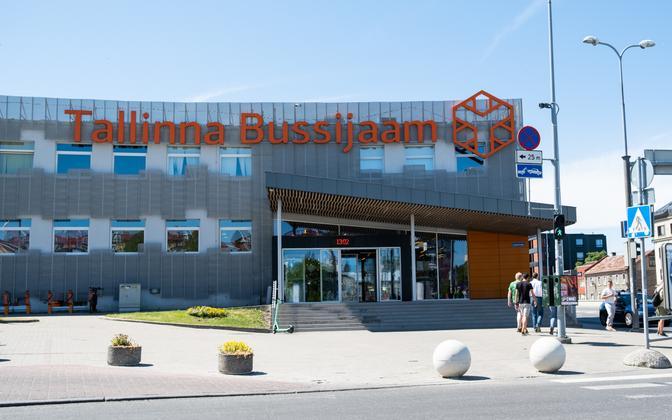 Tallinn Bus Station.
