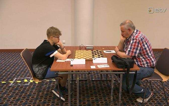Checkers world championships in Tallinn.