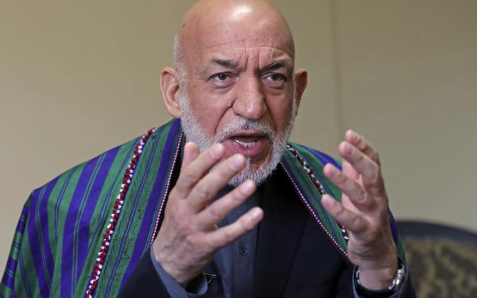 Бывший президент Афганистана Хамид Карзай.
