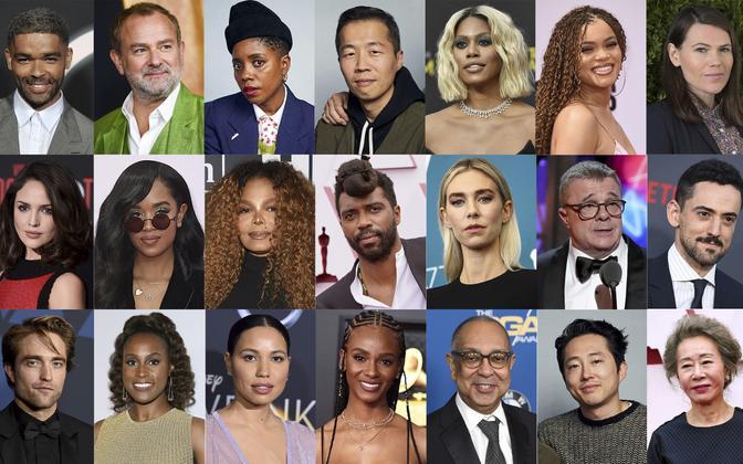 Mõned 395 filmivaldkonna esindajatest, kes said Ameerika filmiakadeemialt kutse nendega liitumiseks.