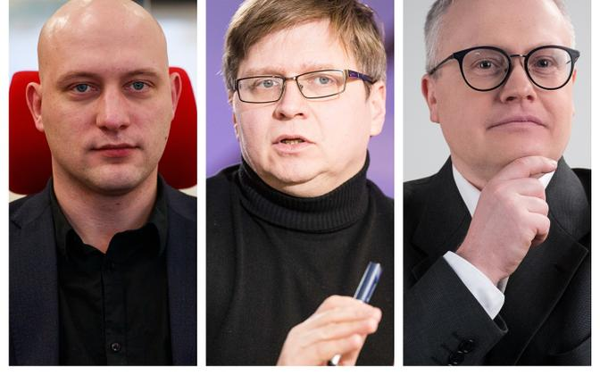 Huko Aaspõllu, Urmet Kook and Sulev Vedler.