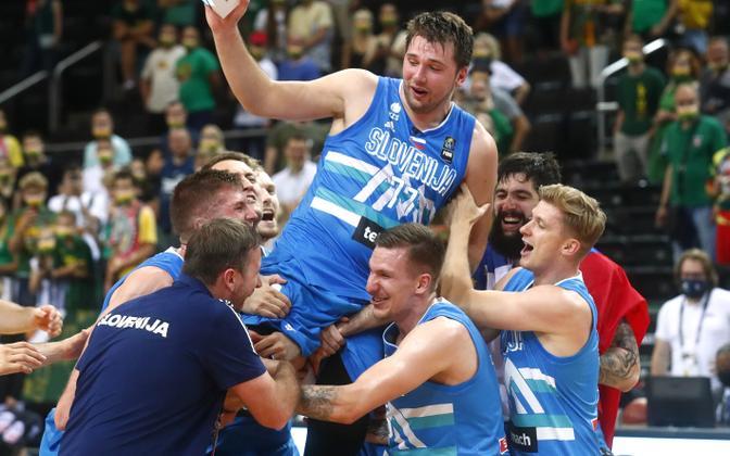 Luka Doncic ja Sloveenia korvpallikoondis