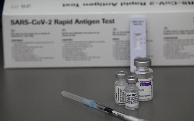 Koroonaviiruse kiirtest ja vaktsiinid