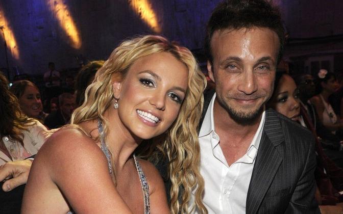 Britney Spears ja tema pikaaegne mänedžer Larry Rudolph