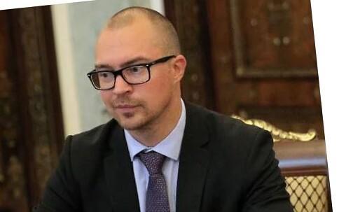 Estonia's former consul in St. Petersburg, Mart Lätte.