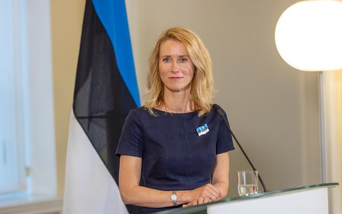 Prime Minister Kaja Kallas.