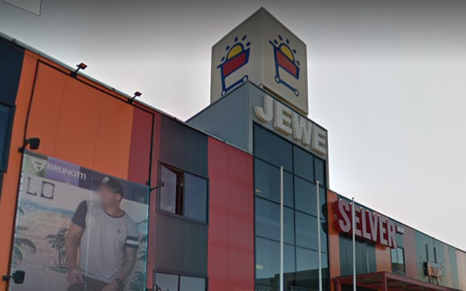 The Jewe shopping mall in Jõhvi will host one of the two walk-in coronavirus vaccine centers operating the weekend of July 11-12.