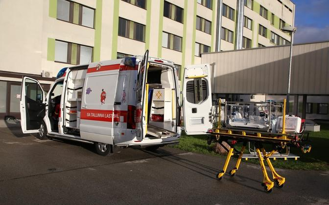 A Tallinn Children's Hospital ambulance.