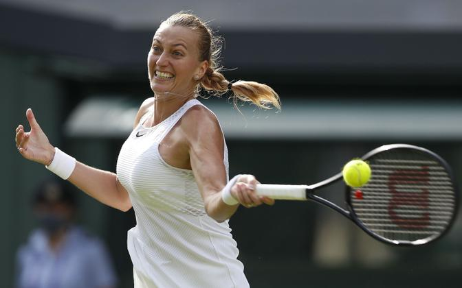Petra Kvitova Wimbledonis