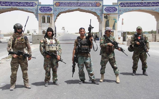 Afganistani sõjaväelased Herati linna kaitsel.