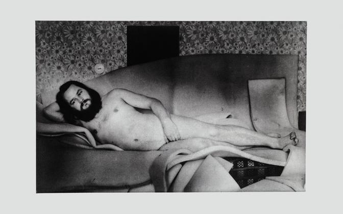 Леонард Лапин, автопортрет, 1982 г.